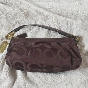 Coach clutch handbag NWT BROWN